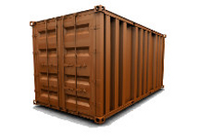 40 ft HC storage container rental