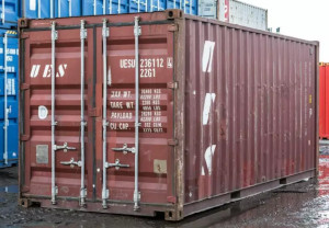 cargo worthy shipping container Great Neck Plaza