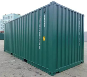 new one trip shipping container Great Neck Plaza