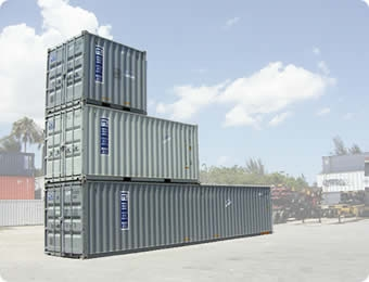 shipping containers in Great Neck Plaza, NY